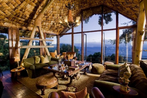 Splendid lodge views