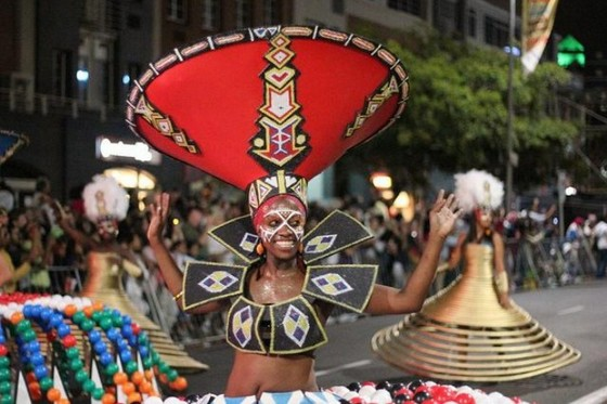 Cape Town Carnival dancer