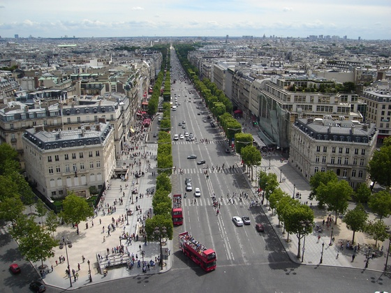 Champs Elysees Buolevard