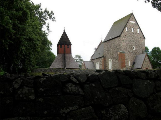 Town church in Scandinavia