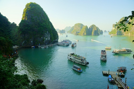 Vietnam is a popular destination in Asia