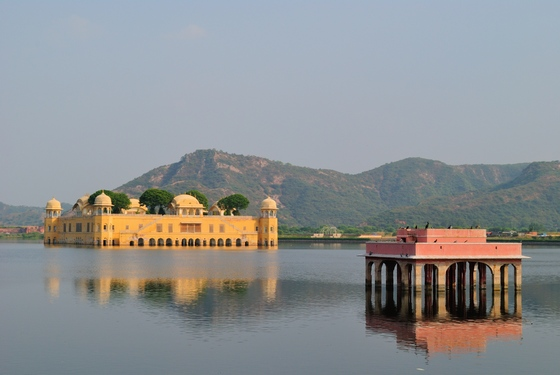 Jal Mahal Palace in Jaipur