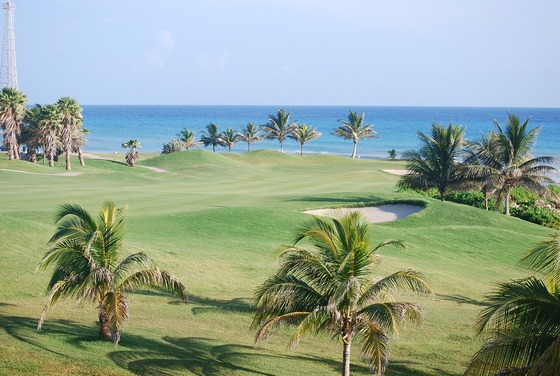 Golf course in Jamaica
