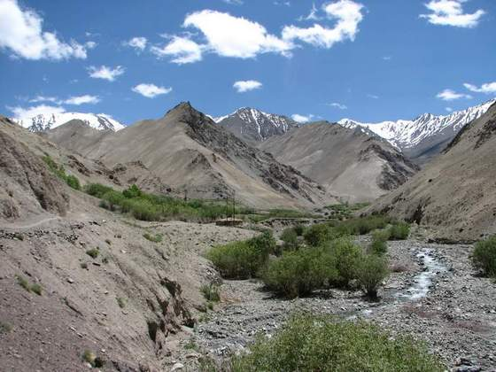Ladakh in the Himalayas