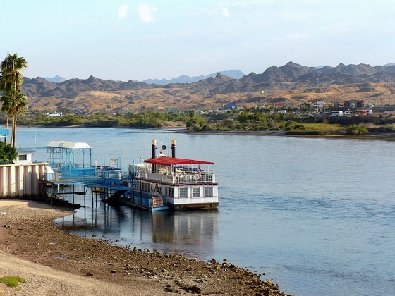 Steam boat cruise in Laughlin, Colorado