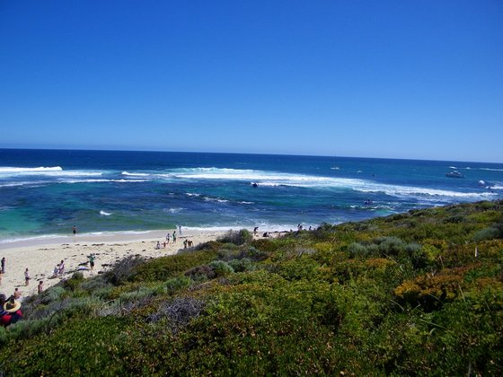 Surfers Point at Margaret River