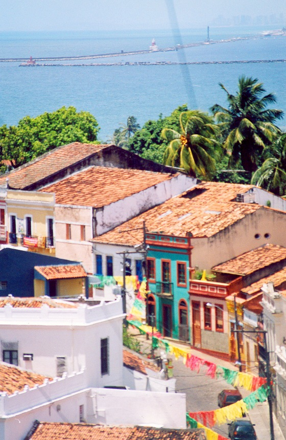 Colourful Olinda street