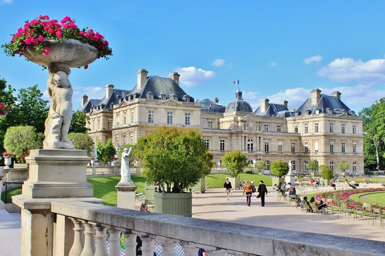 Architectural grandeur in Paris