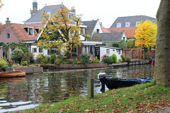 Picturesque Holland landscape