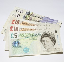The Pound Sterling notes