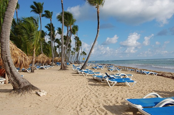 Beach at Punta Cana, Caribbeans
