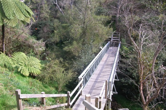 Walkway bridge in Randwick