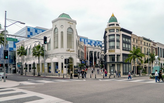 Famous Rodeo Drive in Beveryl Hills