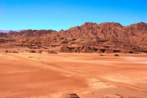 Atamaca desert in Chile, South America
