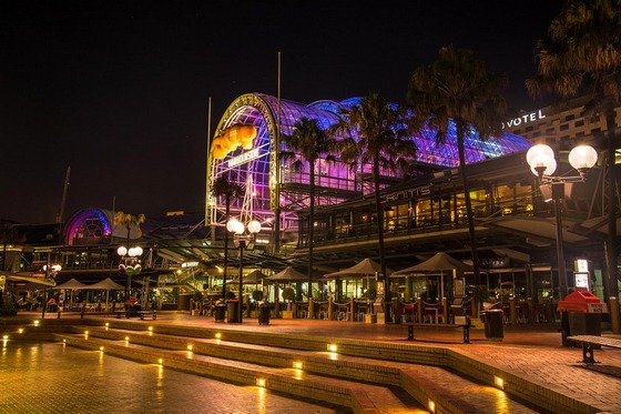 Sydney's Harbourside shopping centre