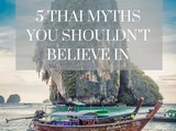 Thailand Tourism Myths