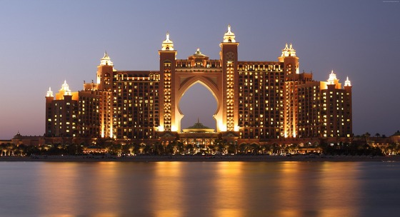 The Palm Atlantis hotel in Dubai