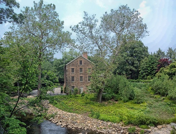 Old Snuff Mill on Bronx River