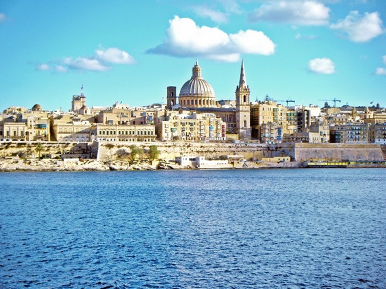 Walled city of Valletta, Malta