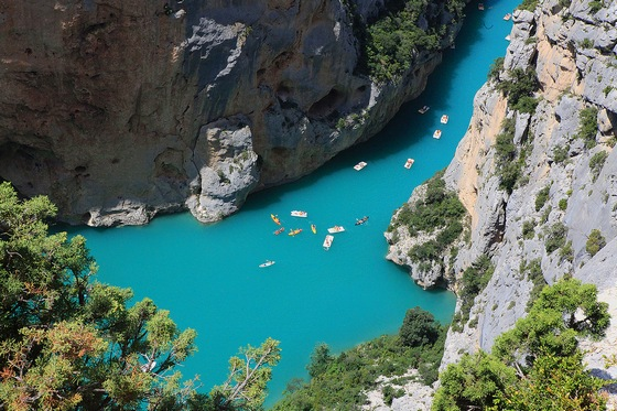 Verdon Gorge in Provence